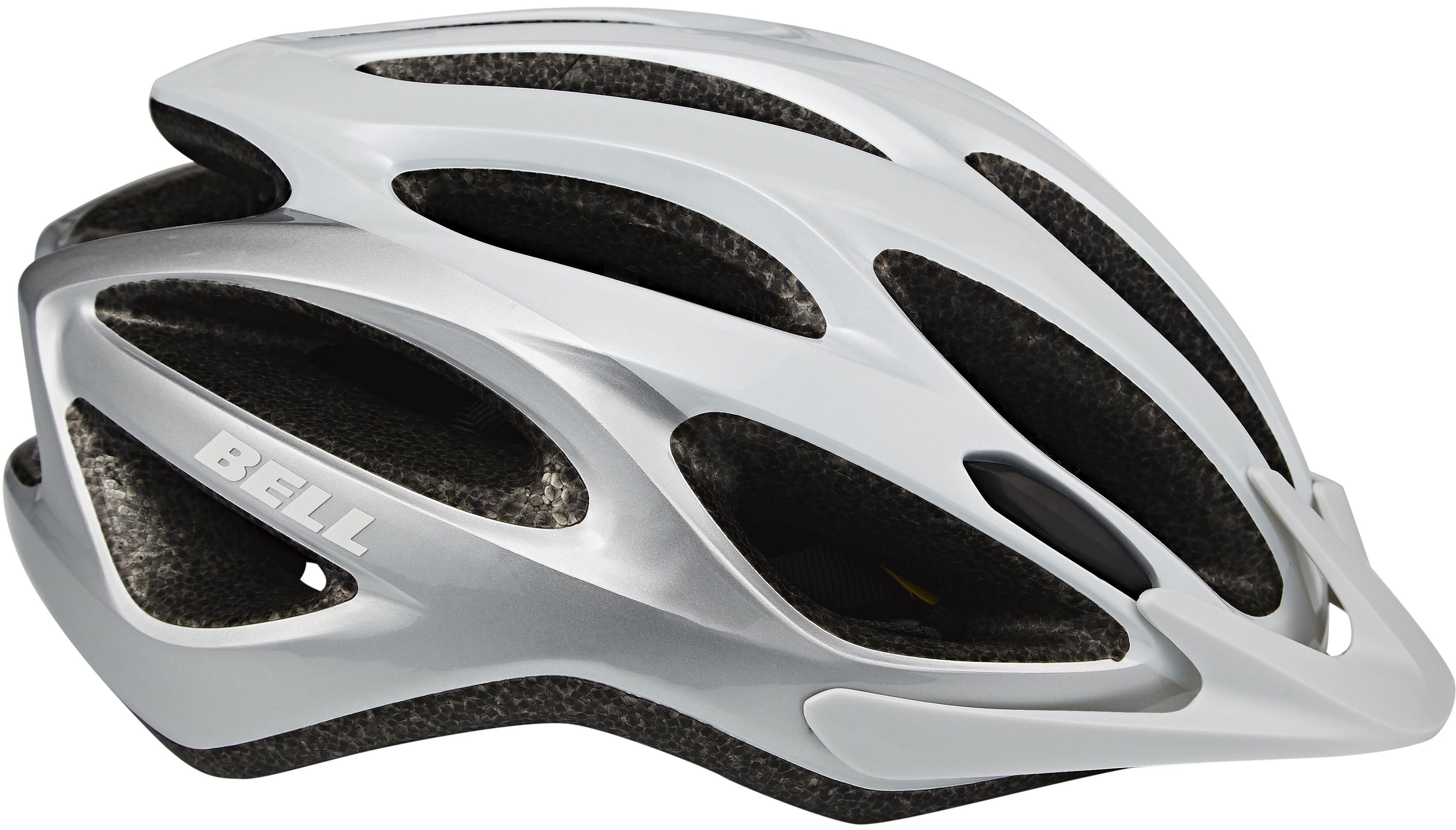 bell traverse mips bike helmet white silver at. Black Bedroom Furniture Sets. Home Design Ideas
